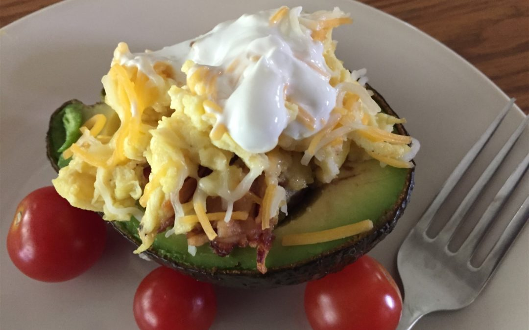 GG's Keto Avocado-Bacon and Egg Quickie