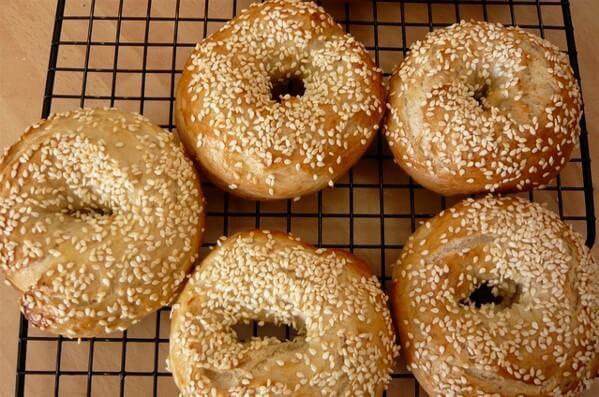 GG's Keto Sesame Seed Bagels