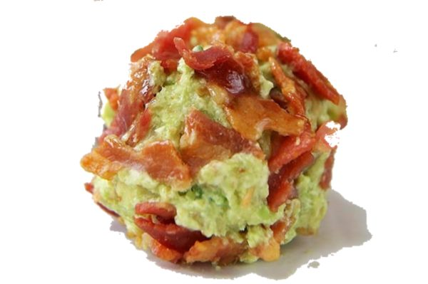 GG's KETO Guacamole and Bacon Fat Bomb