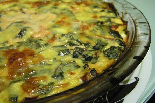 GG's KETO Cheesy Quiche