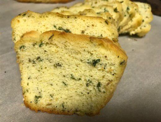 GG's KETO Savory Herb Bread