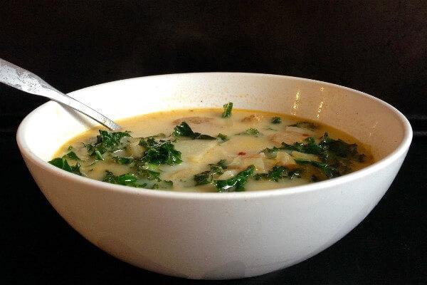 GG's Keto Crock Pot Zuppa Toscana Soup